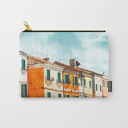 Burano Island #painting #digitalart #travel Carry-All Pouch