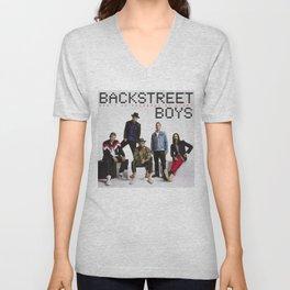 backstreet breaking my heart boys Unisex V-Neck