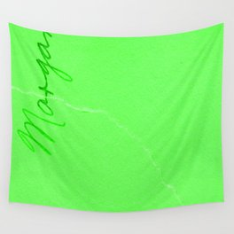 Neon Sea Marble Wall Tapestry