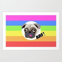 ARF! Art Print