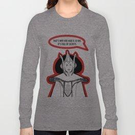 Queen Amidala's Hair Long Sleeve T-shirt