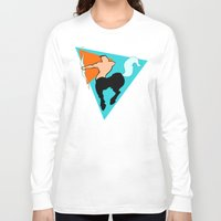 sagittarius Long Sleeve T-shirts featuring Sagittarius by tuditees