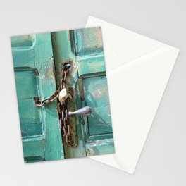 Senegal Old Door closed #door #photography  Stationery Cards