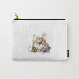 Glowing Cat Eyes Carry-All Pouch