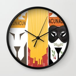 Before After Wall Clock