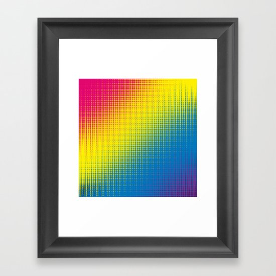 Color Chaos  Framed Art Print