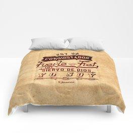 Conqui Fuerte y fiel Comforters
