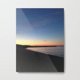 Hamptons Sunset Metal Print
