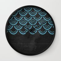 scales Wall Clocks featuring Scales  by Last Call