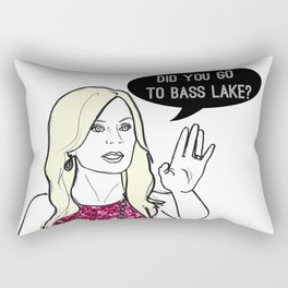 Bass Lake Rectangular Pillow