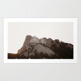 Grand Rushmore Art Print