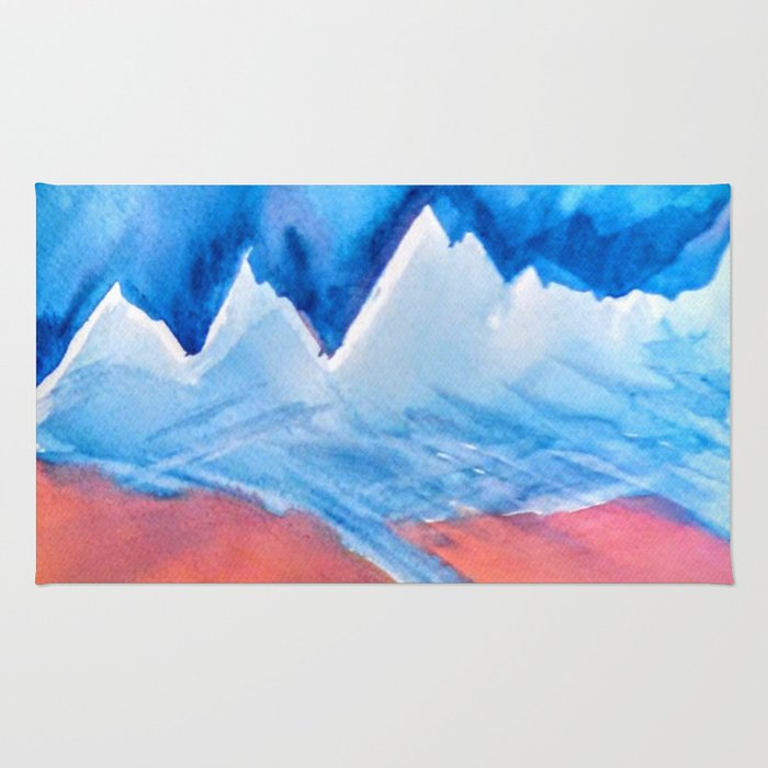 The Himalaya and The River Ganges Rug