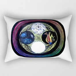 Space and Light Rectangular Pillow