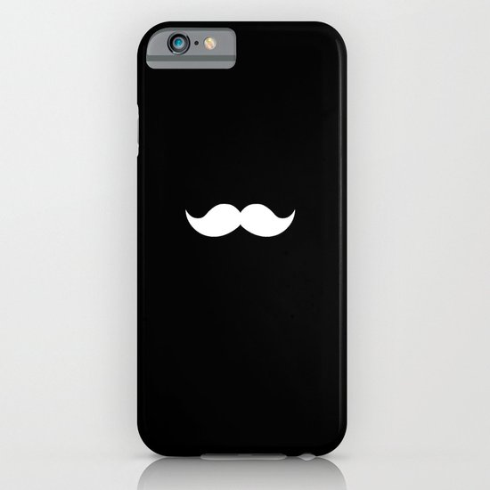 black mustache iPhone & iPod Case