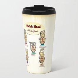 Popular Potato Head Hairstyles Travel Mug