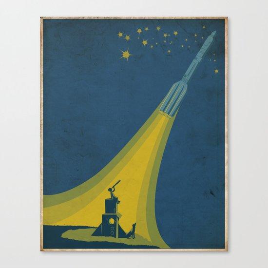 Spaceboy Canvas Print