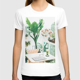 Junglow #illustration #decor T-shirt