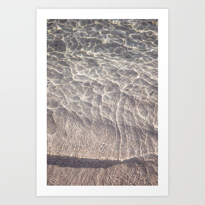 Water Reflections Photography Art Print