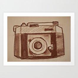 old cameras Art Print