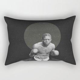 Warrior | Collage art | Sharon Webber- Zvik Rectangular Pillow