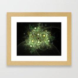 Dawning Universe Fractal Art Framed Art Print