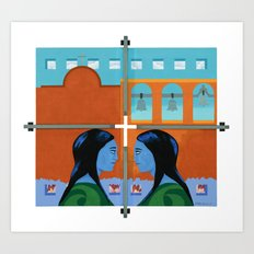 Congregation Art Print