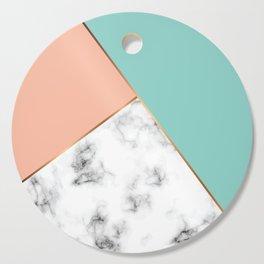Marble Geometry 056 Cutting Board