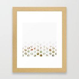 Flowerly Framed Art Print
