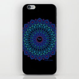 Tribal Manta Mandala iPhone Skin