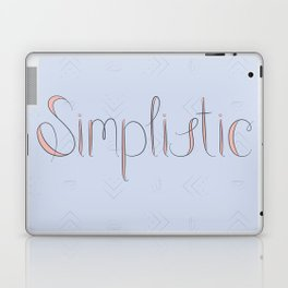 Simplistic Laptop & iPad Skin