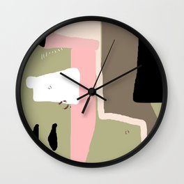 Posessions II Wall Clock