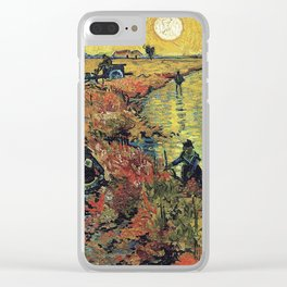 New Haven - Van Gogh Clear iPhone Case