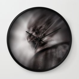 The wrathful god Wall Clock