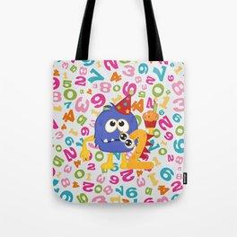 Birthday Monsters 2nd Birthday Tote Bag