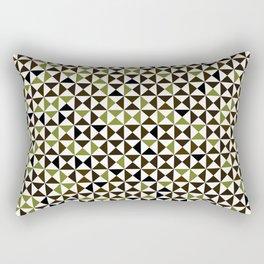 Lovely triangles #01 Rectangular Pillow