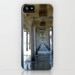Straight and narrow iPhone Case