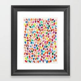 rain 2 Framed Art Print