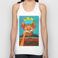 navajo Tank Tops featuring Navajo Dreams by terezamc.