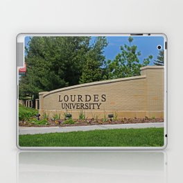 Lourdes University- Lourdes Entrance in the Spring I Laptop & iPad Skin