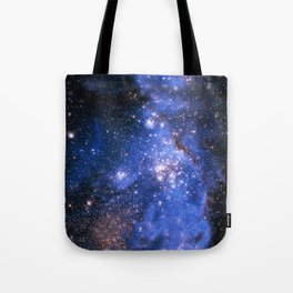 Blue Embrionic Stars Tote Bag