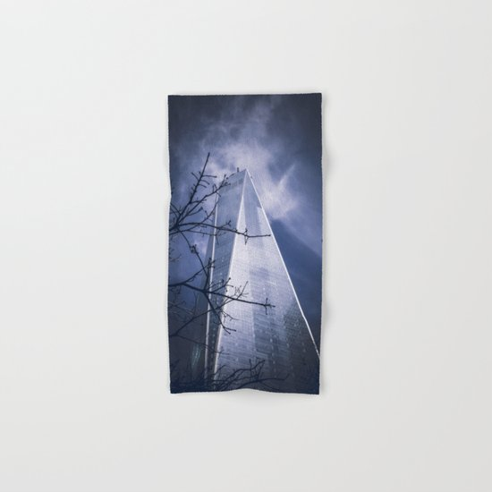 Skyscraper Hand & Bath Towel