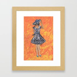Collage Collection - Jesminder Framed Art Print