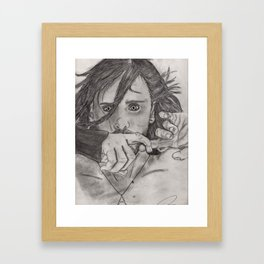 Do You Really Want Me Framed Art Print