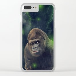 ThunderStorm Gorilla by GEN Z Clear iPhone Case