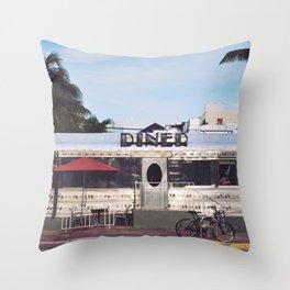 Diner Throw Pillow