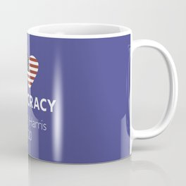 I Love Democracy Vote Biden Harris Coffee Mug