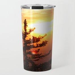 Sunset from the Sandias Travel Mug
