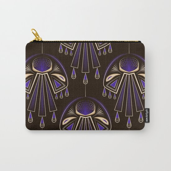 Art Deco No. 6 Carry-All Pouch