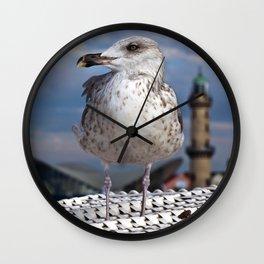 LIBERTY on the BALTIC SEA Wall Clock