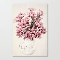 blush Canvas Prints featuring Blush by  Robin-Lee